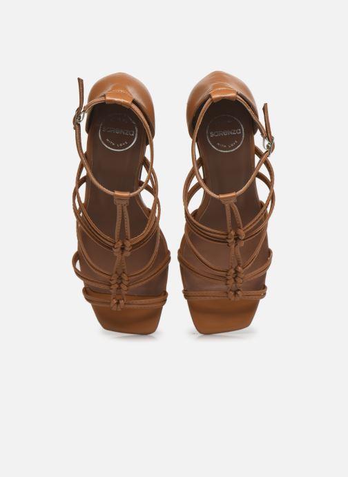 Sandali e scarpe aperte Made by SARENZA Exotic Vibes Sandales à Talons #8 Giallo modello indossato