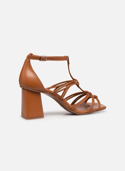 Sandali e scarpe aperte Made by SARENZA Exotic Vibes Sandales à Talons #8 Giallo immagine frontale