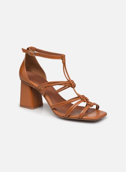Sandali e scarpe aperte Made by SARENZA Exotic Vibes Sandales à Talons #8 Giallo immagine destra