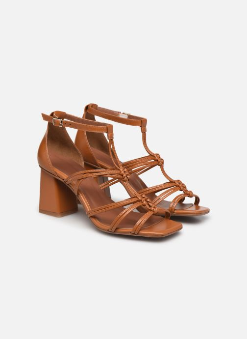 Sandali e scarpe aperte Made by SARENZA Exotic Vibes Sandales à Talons #8 Giallo immagine posteriore