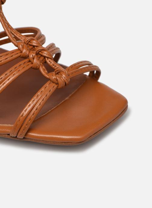 Sandali e scarpe aperte Made by SARENZA Exotic Vibes Sandales à Talons #8 Giallo immagine sinistra