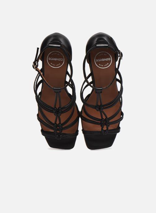 Sandalen Made by SARENZA Exotic Vibes Sandales à Talons #8 schwarz schuhe getragen