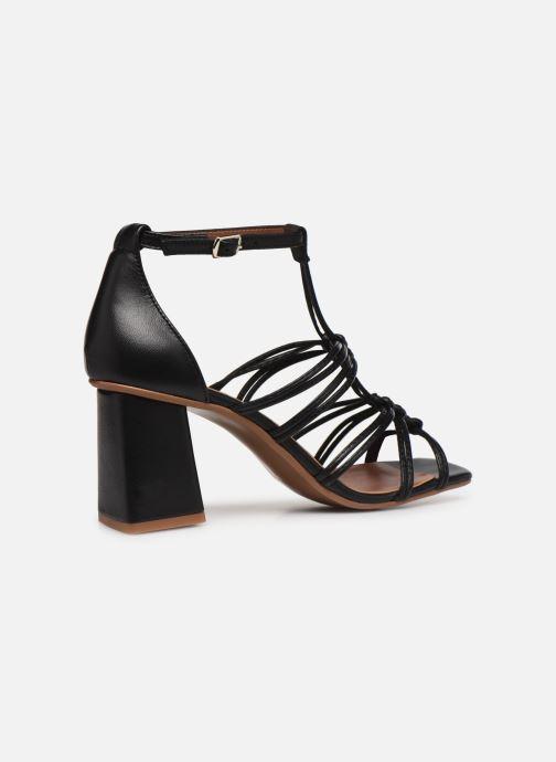 Sandalen Made by SARENZA Exotic Vibes Sandales à Talons #8 schwarz ansicht von vorne