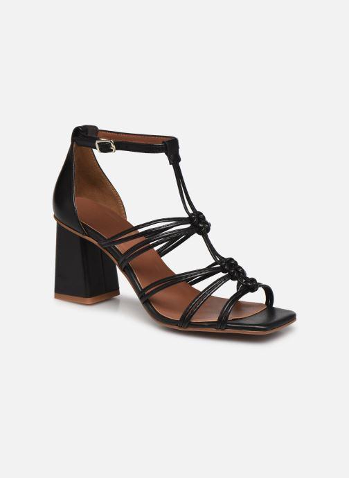 Sandalen Made by SARENZA Exotic Vibes Sandales à Talons #8 schwarz ansicht von rechts