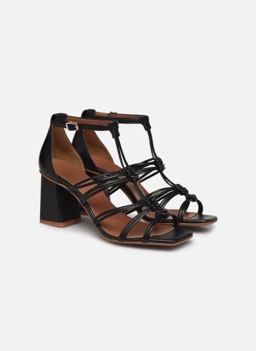 Sandalen Made by SARENZA Exotic Vibes Sandales à Talons #8 schwarz ansicht von hinten