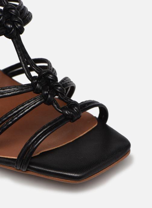 Sandalen Made by SARENZA Exotic Vibes Sandales à Talons #8 schwarz ansicht von links