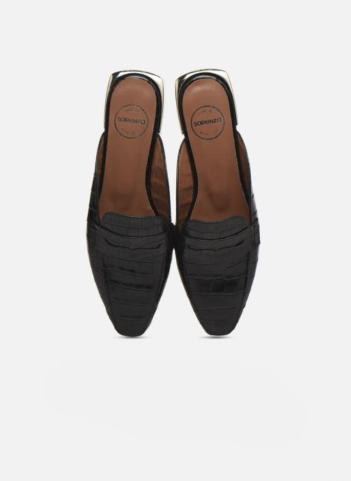 Slipper Made by SARENZA Exotic Vibes Mocassins #2 schwarz schuhe getragen