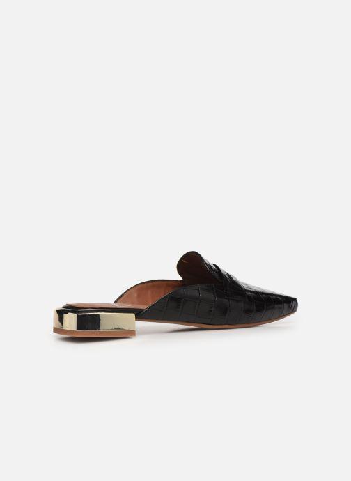 Slipper Made by SARENZA Exotic Vibes Mocassins #2 schwarz ansicht von vorne