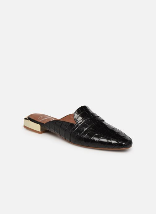 Slipper Made by SARENZA Exotic Vibes Mocassins #2 schwarz ansicht von rechts