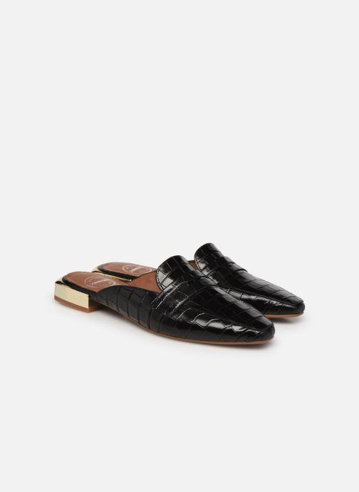 Slipper Made by SARENZA Exotic Vibes Mocassins #2 schwarz ansicht von hinten