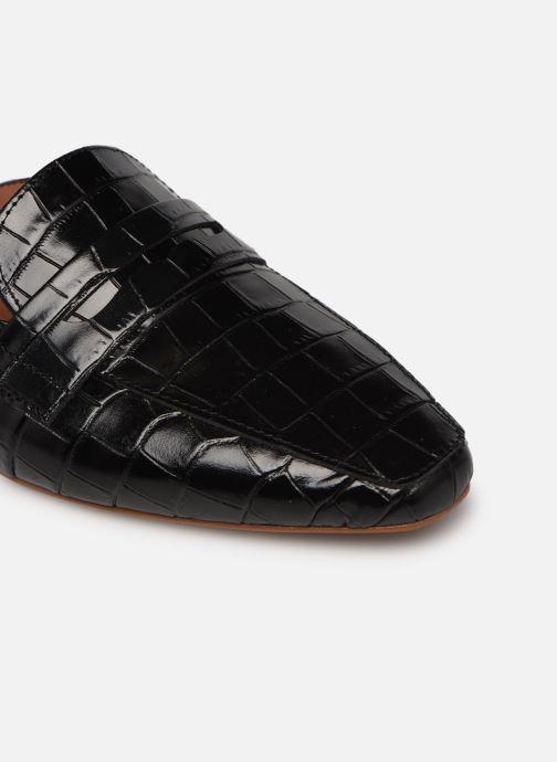Slipper Made by SARENZA Exotic Vibes Mocassins #2 schwarz ansicht von links