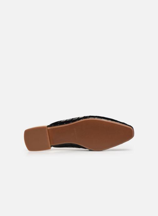 Slipper Made by SARENZA Exotic Vibes Mocassins #2 schwarz ansicht von oben