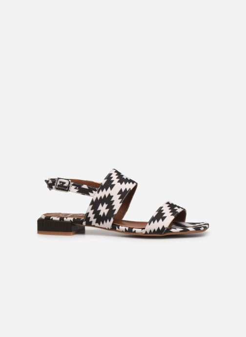 Sandalen Made by SARENZA Rustic Beach Sandales à Talons #6 Zwart detail