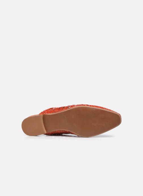 Clogs & Pantoletten Made by SARENZA Rustic Beach Mules #2 rot ansicht von oben