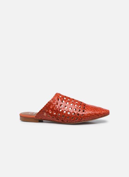 Clogs & Pantoletten Made by SARENZA Rustic Beach Mules #2 rot detaillierte ansicht/modell
