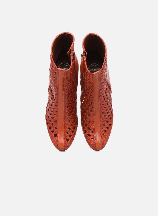 Stiefeletten & Boots Made by SARENZA Rustic Beach Boots #1 rot schuhe getragen