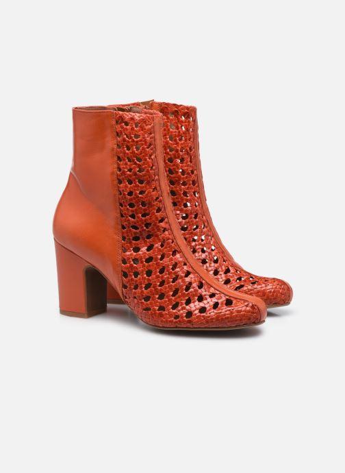 Stiefeletten & Boots Made by SARENZA Rustic Beach Boots #1 rot ansicht von hinten