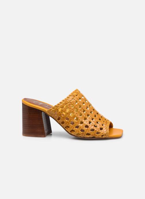 Clogs & Pantoletten Made by SARENZA Rustic Beach Mules #4 gelb detaillierte ansicht/modell