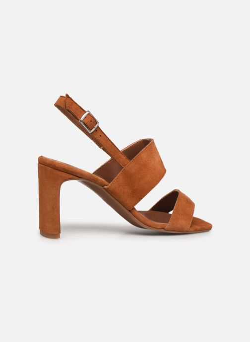 Sandalen Made by SARENZA Minimal Summer Sandales à Talons #3 Bruin voorkant