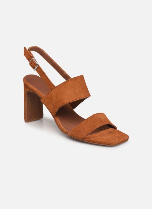 Sandalen Made by SARENZA Minimal Summer Sandales à Talons #3 braun ansicht von rechts