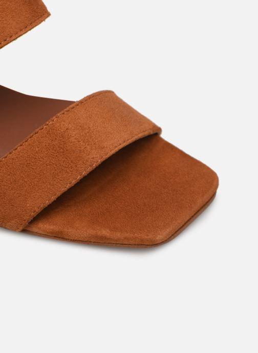 Sandalen Made by SARENZA Minimal Summer Sandales à Talons #3 Bruin links