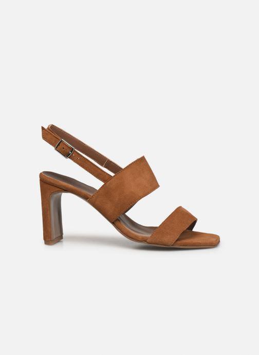 Sandalen Made by SARENZA Minimal Summer Sandales à Talons #3 Bruin detail