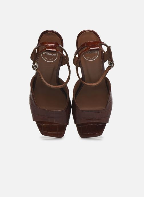 Sandalen Made by SARENZA Minimal Summer Sandales à Talons #4 Bruin model