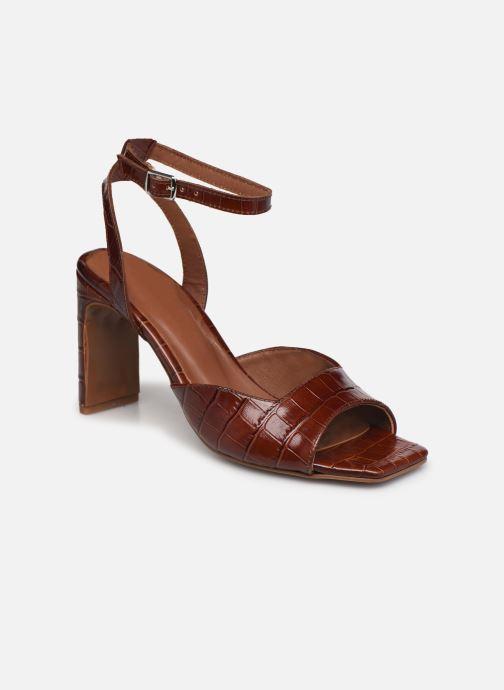 Sandalen Made by SARENZA Minimal Summer Sandales à Talons #4 Bruin rechts