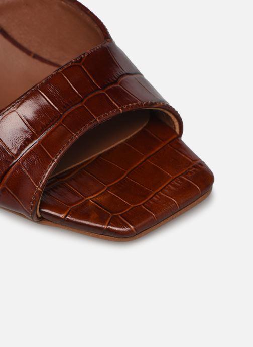 Sandalen Made by SARENZA Minimal Summer Sandales à Talons #4 Bruin links
