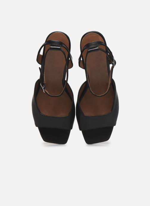 Sandalen Made by SARENZA Minimal Summer Sandales à Talons #4 Zwart model