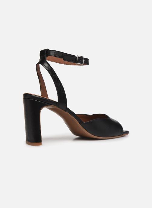Sandalen Made by SARENZA Minimal Summer Sandales à Talons #4 Zwart voorkant