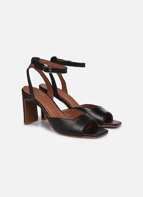 Sandalen Made by SARENZA Minimal Summer Sandales à Talons #4 Zwart achterkant