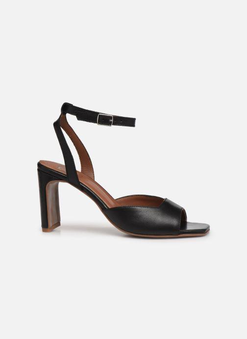 Sandalen Made by SARENZA Minimal Summer Sandales à Talons #4 Zwart detail