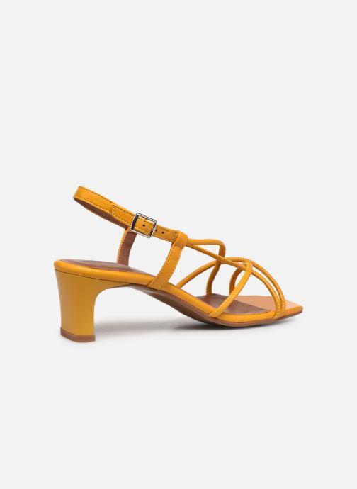 Sandalen Made by SARENZA Exotic Vibes Sandales à Talons #10 gelb ansicht von vorne