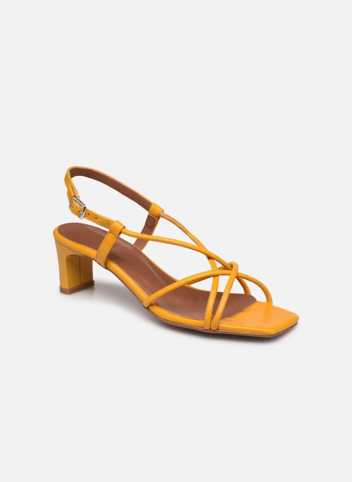 Sandalen Made by SARENZA Exotic Vibes Sandales à Talons #10 gelb ansicht von rechts