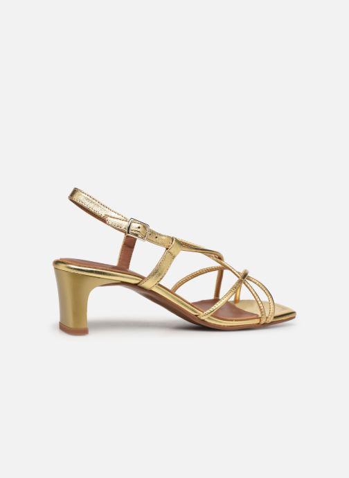 Sandalen Made by SARENZA Exotic Vibes Sandales à Talons #10 Goud en brons voorkant