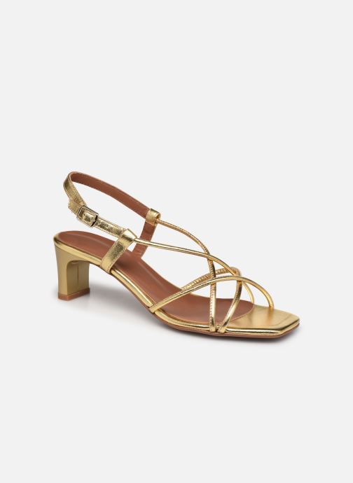 Sandalen Made by SARENZA Exotic Vibes Sandales à Talons #10 Goud en brons rechts