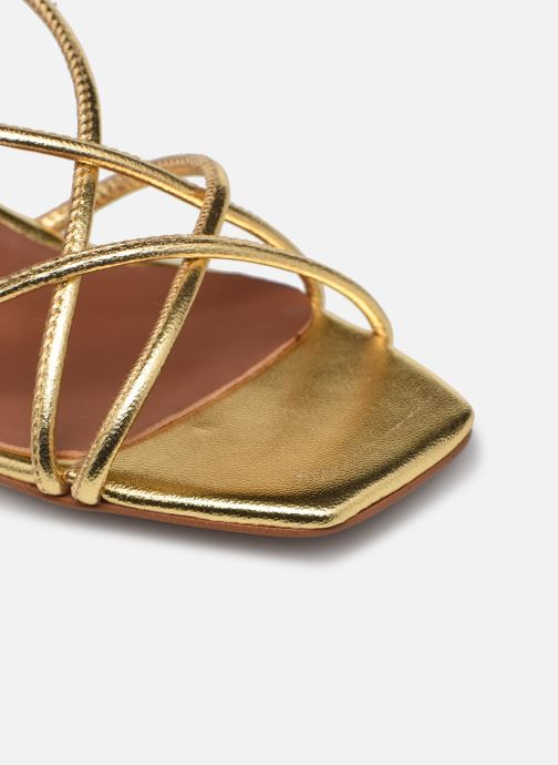 Sandalen Made by SARENZA Exotic Vibes Sandales à Talons #10 gold/bronze ansicht von links