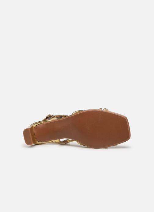Sandalen Made by SARENZA Exotic Vibes Sandales à Talons #10 gold/bronze ansicht von oben