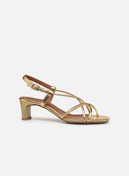 Sandalen Made by SARENZA Exotic Vibes Sandales à Talons #10 gold/bronze detaillierte ansicht/modell