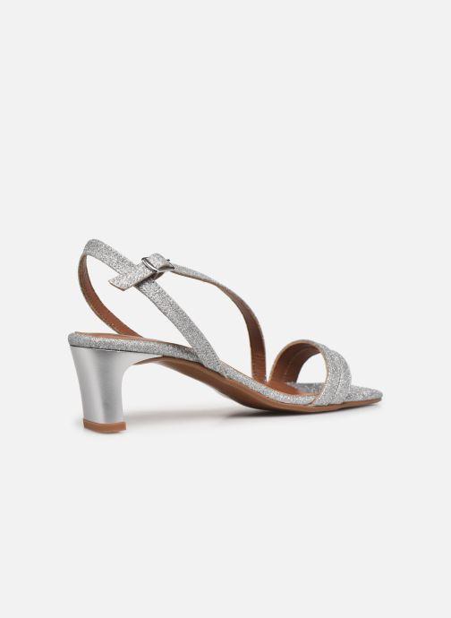 Sandali e scarpe aperte Made by SARENZA Minimal Summer Sandales à Talons #5 Argento immagine frontale