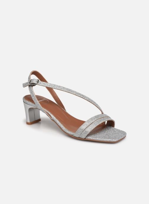 Sandali e scarpe aperte Made by SARENZA Minimal Summer Sandales à Talons #5 Argento immagine destra