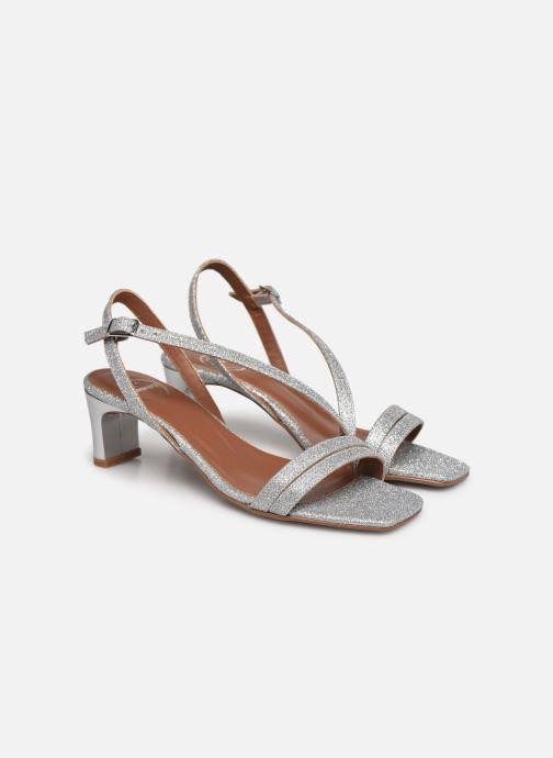 Sandalen Made by SARENZA Minimal Summer Sandales à Talons #5 silber ansicht von hinten