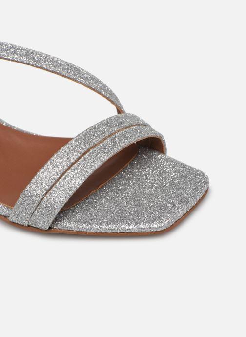Sandalen Made by SARENZA Minimal Summer Sandales à Talons #5 silber ansicht von links