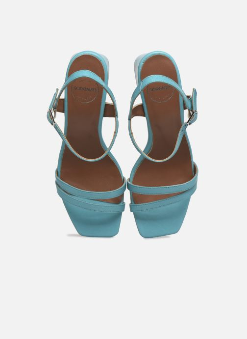 Sandali e scarpe aperte Made by SARENZA Exotic Vibes Sandales à Talons #11 Azzurro modello indossato
