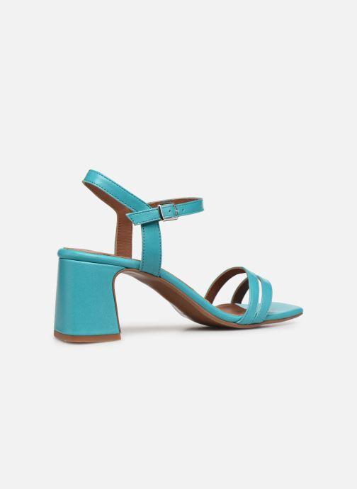 Sandali e scarpe aperte Made by SARENZA Exotic Vibes Sandales à Talons #11 Azzurro immagine frontale