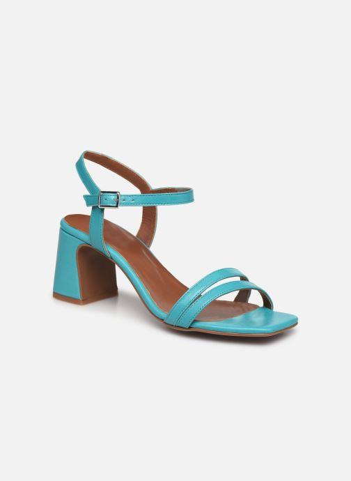 Sandali e scarpe aperte Made by SARENZA Exotic Vibes Sandales à Talons #11 Azzurro immagine destra