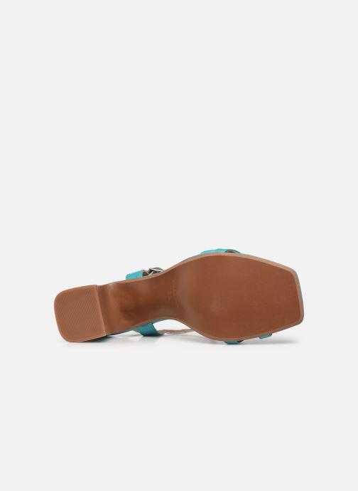 Sandali e scarpe aperte Made by SARENZA Exotic Vibes Sandales à Talons #11 Azzurro immagine dall'alto
