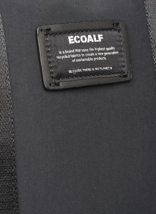 Rucksäcke Ecoalf NARA BACKPACK schwarz ansicht von links