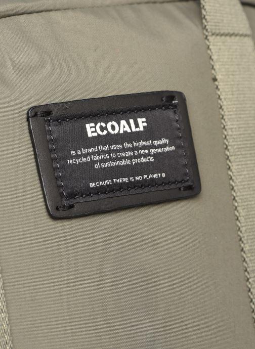 Rucksäcke Ecoalf NARA BACKPACK grün ansicht von links